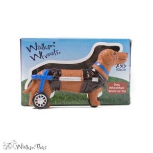 Walkin Wheels Dog Wheelchair Wind Up Toy